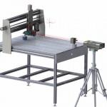 ZLM 900 3D Messaufbau Laser